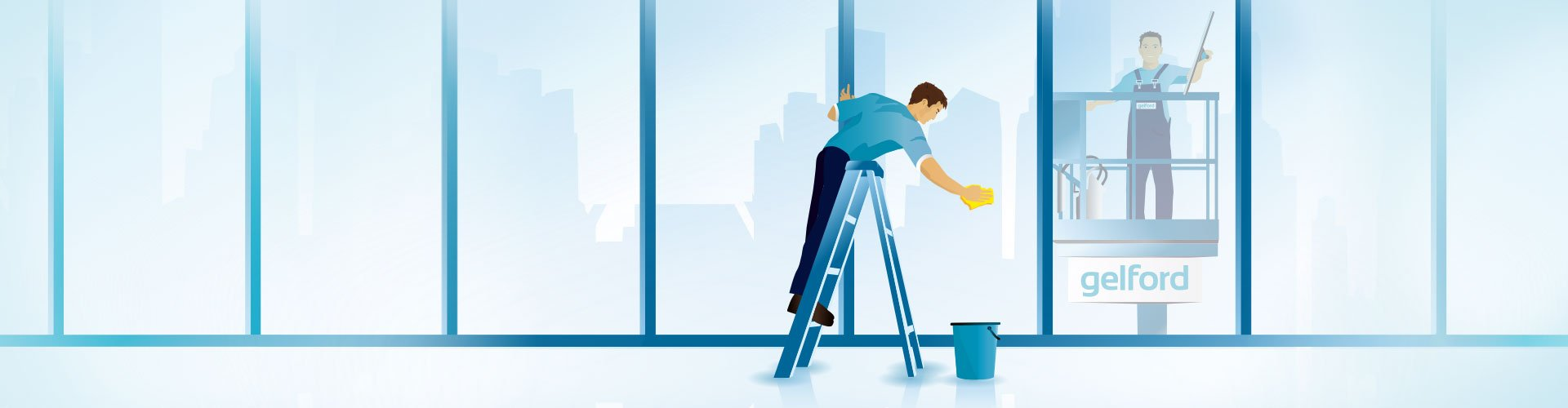 Fensterreinigung, Glasreinigung, Fassadenreinigung